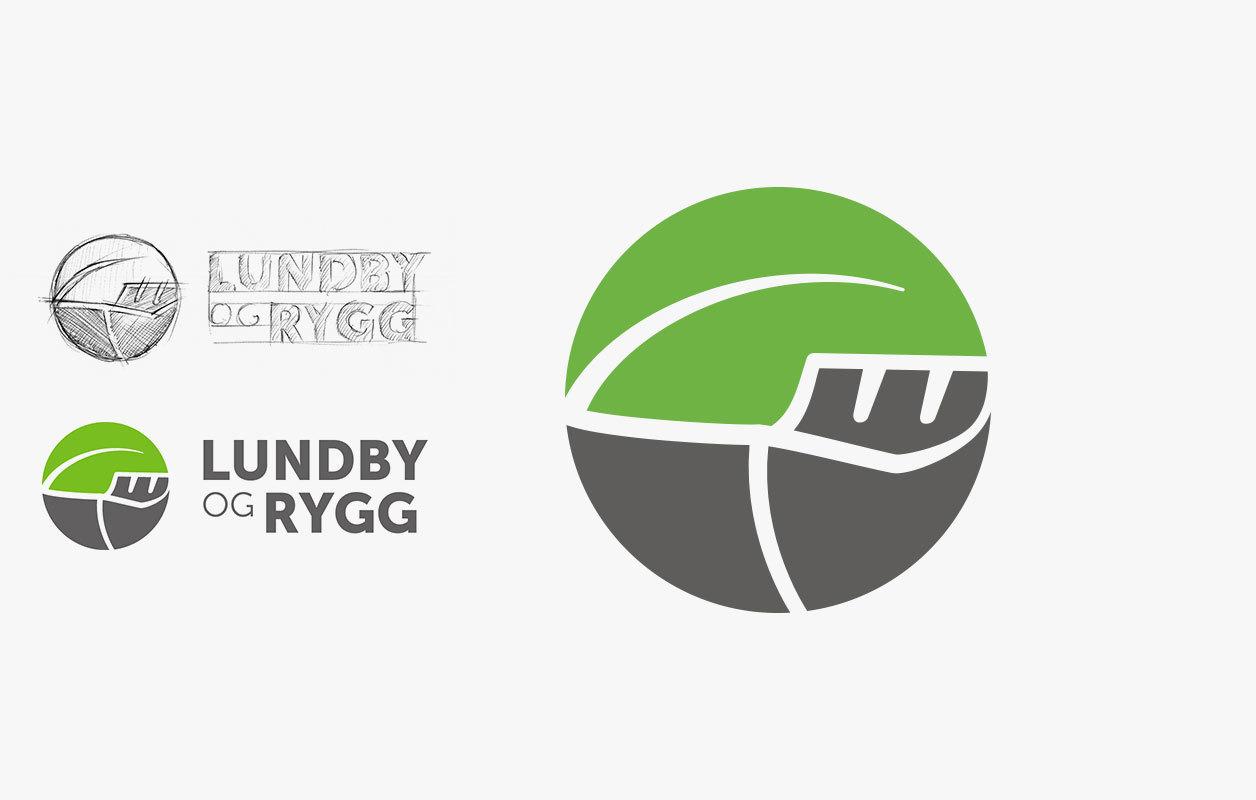 Lundby og Rygg logo